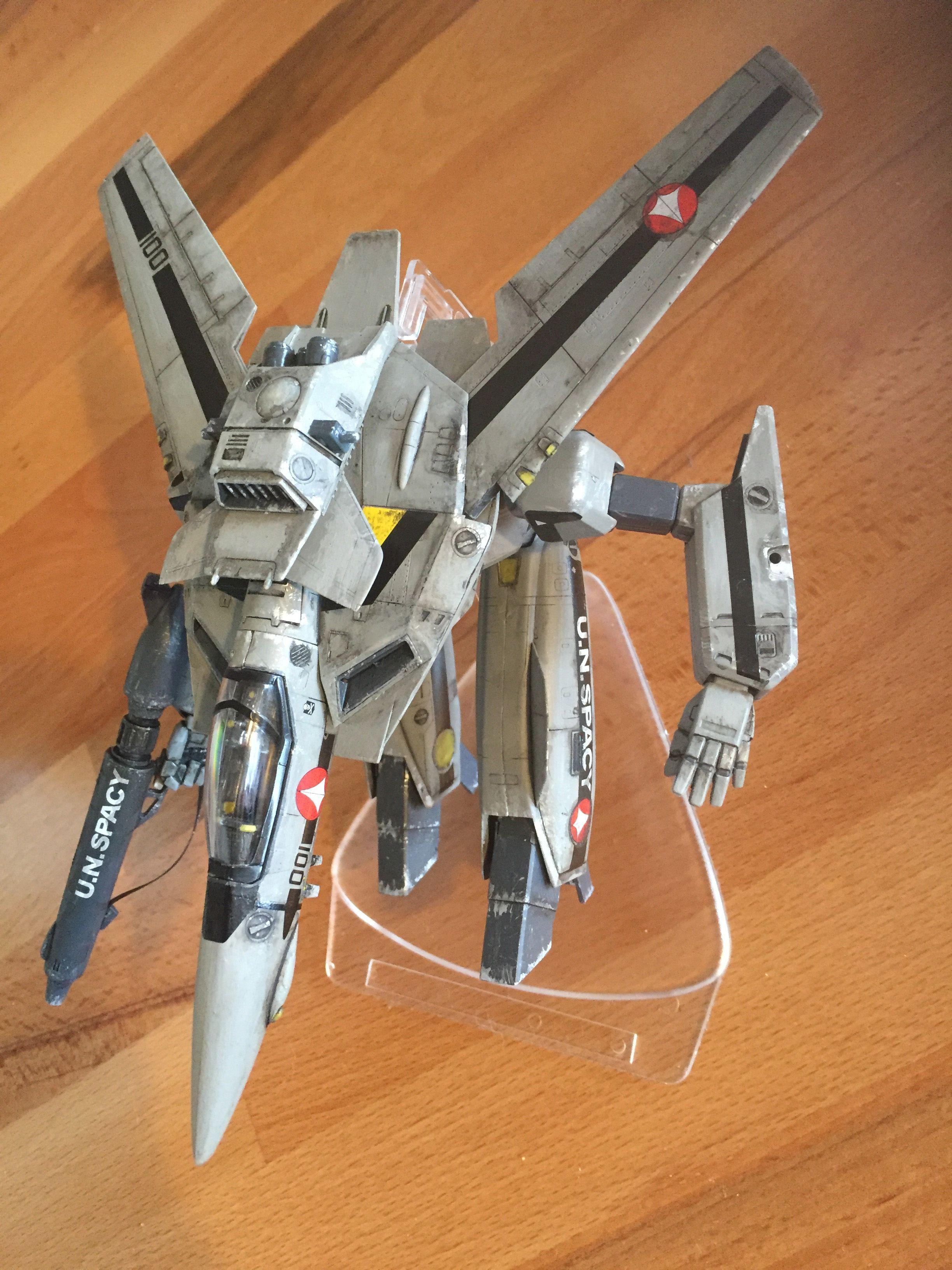 #Robotech, #Macross / Valkyrie VF-1S model - step 04