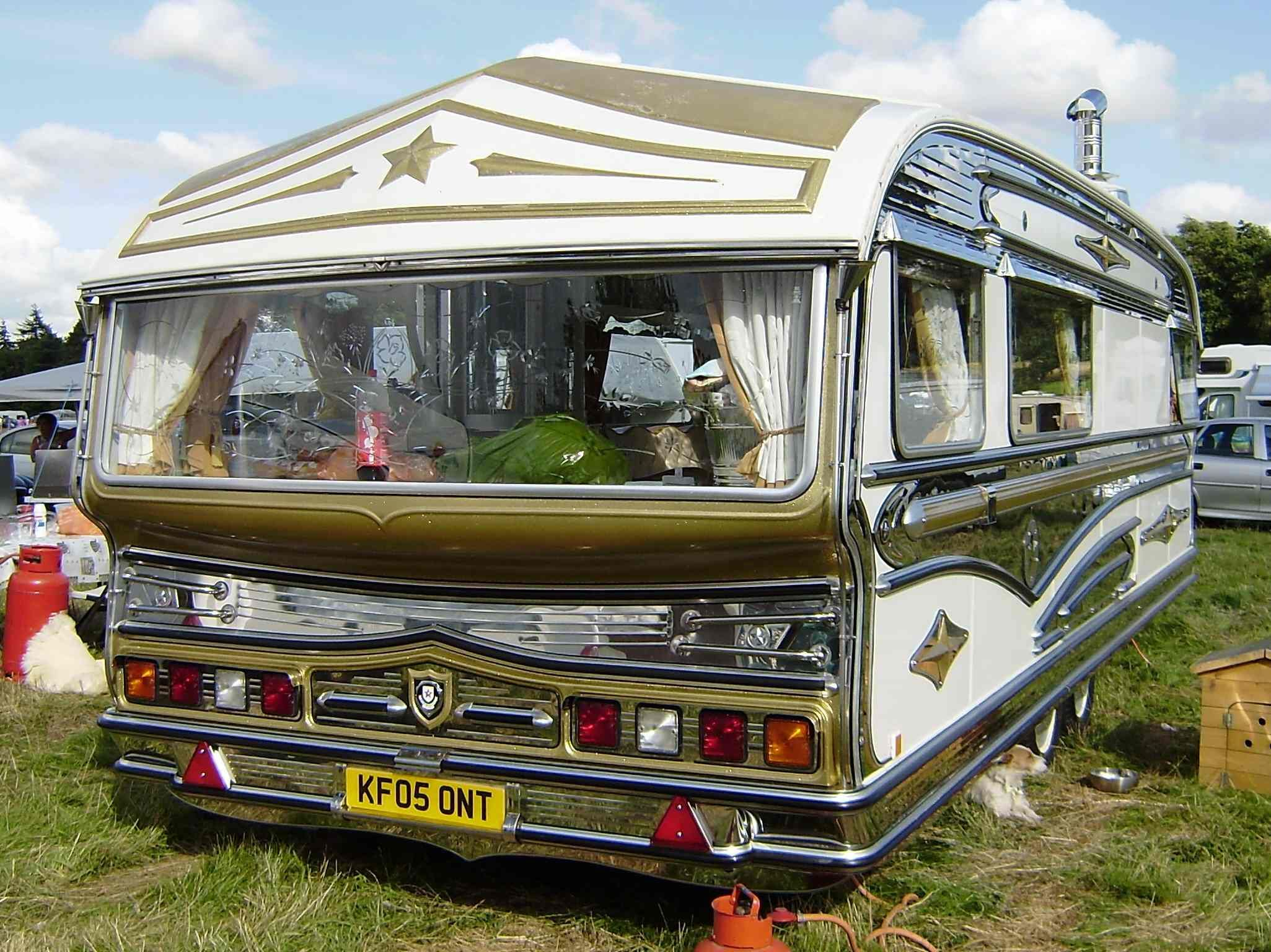Beautiful Modern Gypsy Caravan Gypsy Caravan