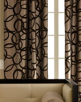 Bold Also In Blue Or White Traditional Curtains Brown Curtains Living Room Brown Curtains