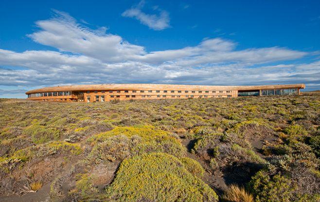 hotel tierra patagônia, torres del plaine, chile | projeto de arquitetura: cazu zegers