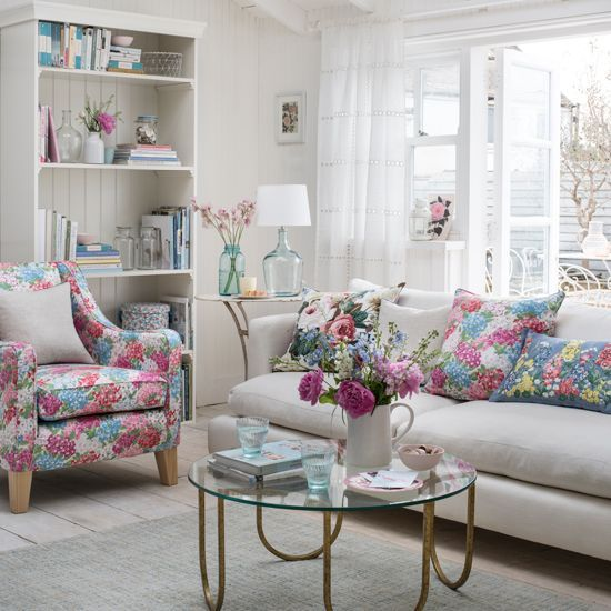 Garden Themed Living Room Ideas