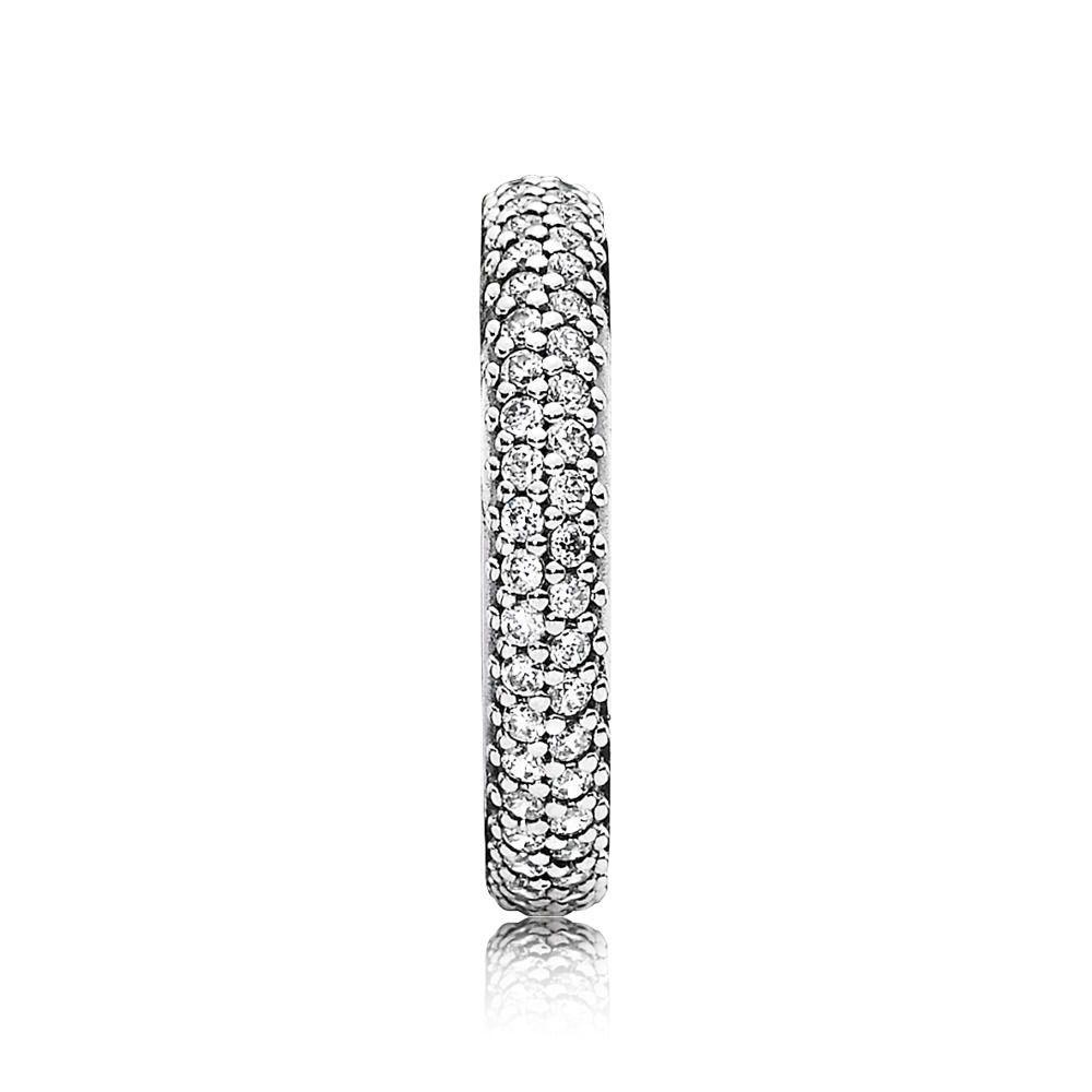 anello pandora zirconia cubica