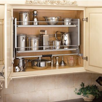 16 Best Pull Down Shelf Ideas Pull Down Shelf Shelves Kitchen Storage