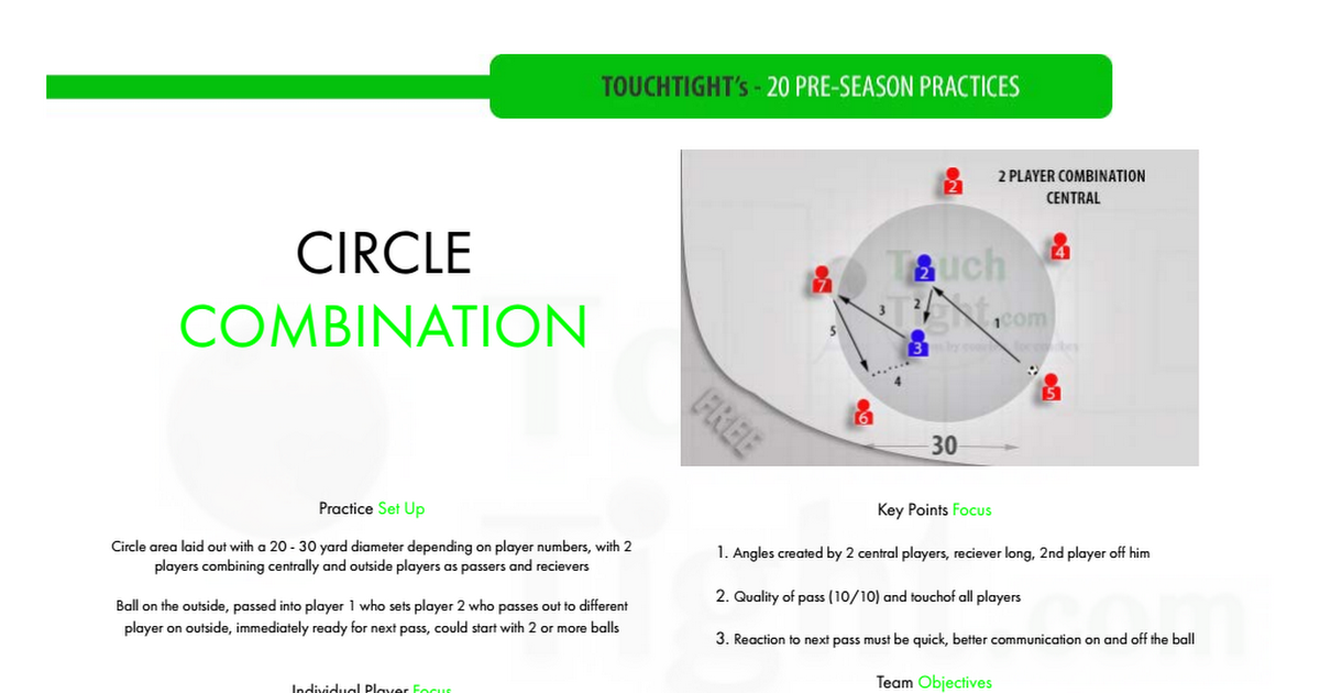 Session 12 Pdf Soccer Drills Player Number Drill
