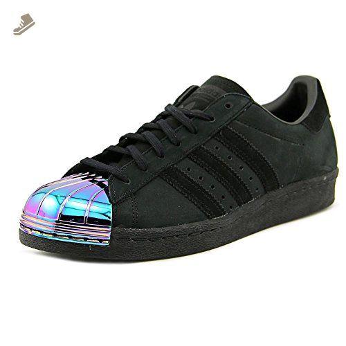 1bc08fa4b219b Adidas Superstar 80s Metal Women US 9 Black Sneakers - Adidas ...