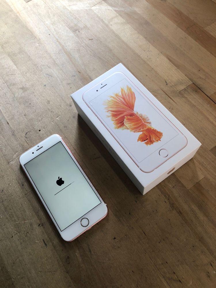 Apple iphone 6s 128gb rose gold unlocked a1633