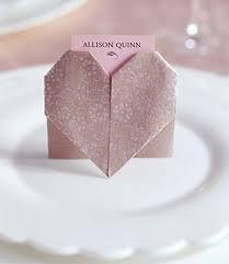 Origami Segnaposto Matrimonio.Segnaposto Matrimonio Fai Da Te Origami Cuore Sposifaidate