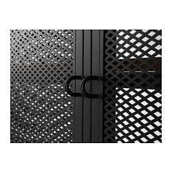 mueble tv fj llbo negro ikea svart ema wood shelving. Black Bedroom Furniture Sets. Home Design Ideas