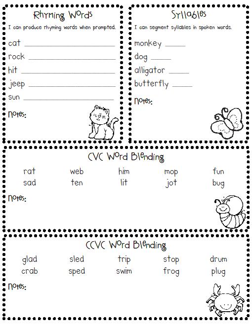 Screen Shot 2012 03 09 At 5 44 02 Pm Png 510 661 Pixels Kindergarten Assessment Reading Assessment First Grade Assessment