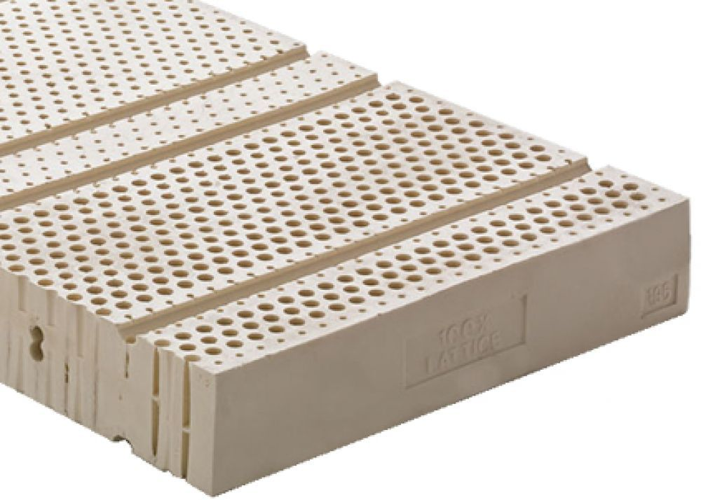 Materasso Lattice 7 Zone.Materasso In Lattice 100 H21 A 7 Zone Differenziate Topazio Lattice Decorative Boxes Mattress