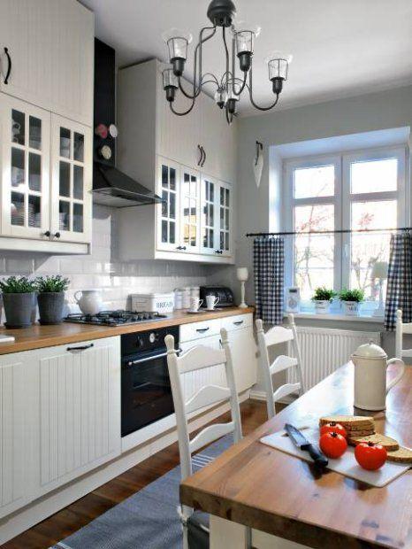 Zdjecie Kuchnia Styl Skandynawski Home Kitchen Design Home Decor