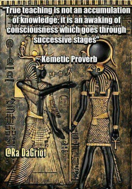 KEMETIC PROVERB! | SCIENCE OF SOUL | Egypt, African history