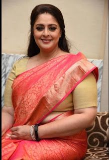 Nagma latest photos in saree after leaving film industry ...