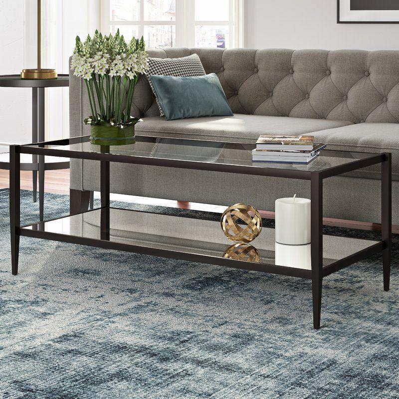Wayfair Living Room Table Lamps Inspirational Modern Rustic Interiors Erika Coffee Table Reviews Di 2020