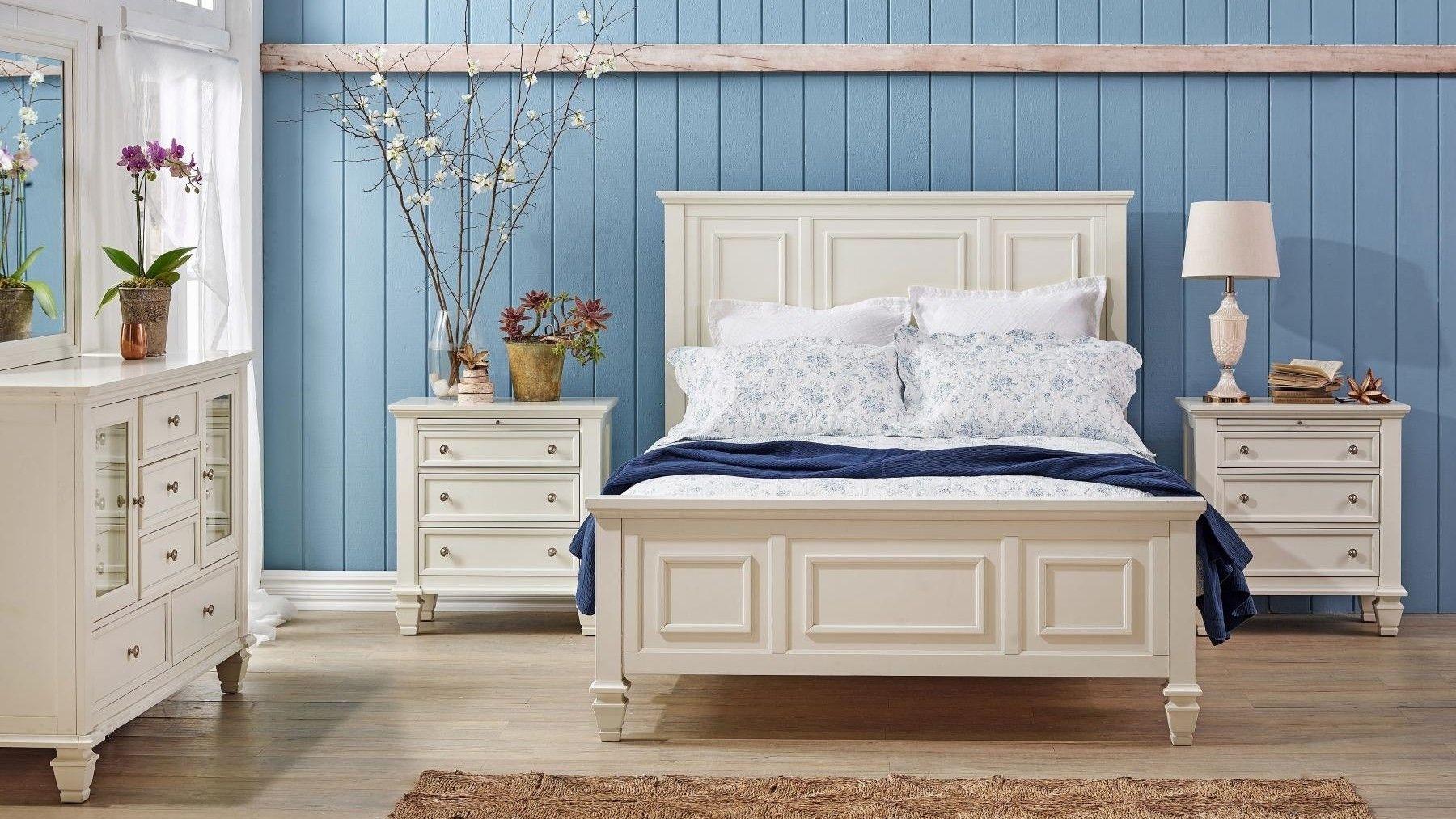 Glenmore 4 Piece Queen Bedroom Suite with Dresser