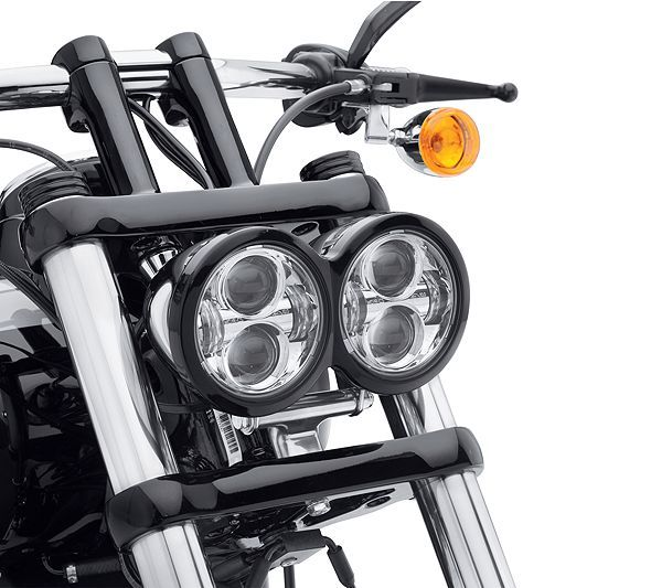 Home Latest Collection Of For Harley Davidson Dyna Glide Fat Bob Led Headlight Lights 5 Moto Projector Led Headlight Lamps For Fat Bob Motorcycle