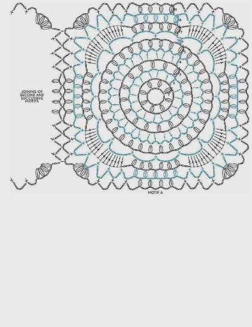 Capa-Torera Mariposa Crochet Patron - Patrones Crochet | flores a ...
