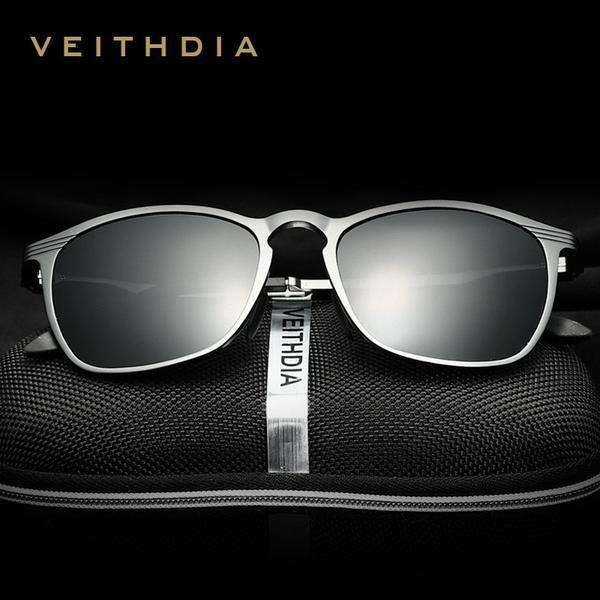 bf0b552468 FuzWeb VEITHDIA New Brand HD Sunglasses Polarized Men Aluminum Alloy Frame  Eyewear Accessories Glasses For