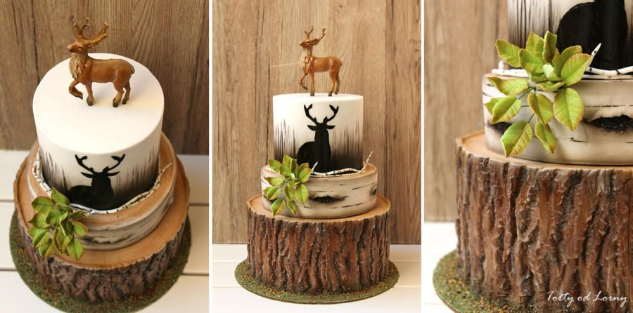Prime Deer Hunting Birthday Cake By Lorna Decoreren Eten Taart Personalised Birthday Cards Veneteletsinfo