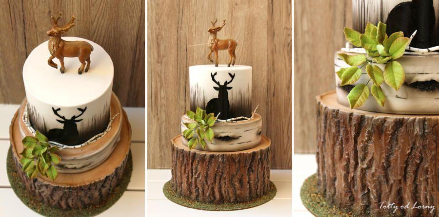 Fabulous Deer Hunting Birthday Cake By Lorna Decoreren Eten Taart Personalised Birthday Cards Epsylily Jamesorg