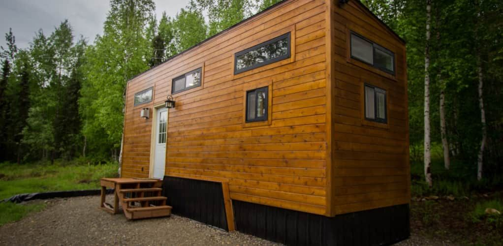 Beautiful Tiny Home Quality And Clean Tiny House For Sale In Devils Lake North Dakota Tiny Hou Tiny House On Wheels House On Wheels Tiny Houses For Sale