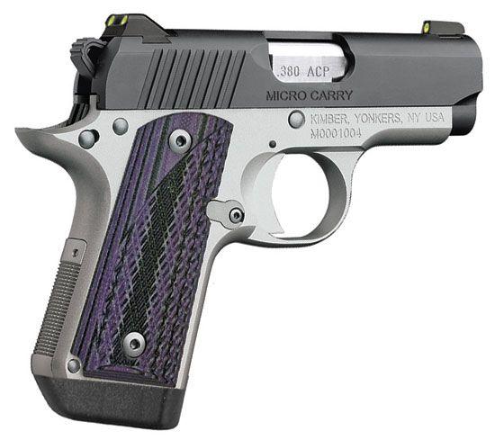 Kimber 1911 Micro Pistols: Kimber Micro Carry Advocate .380 Pistol At Eurooptic.com