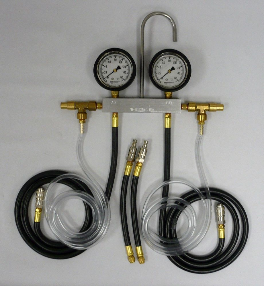 Details about WSM Outboard Mercury Fuel Pressure Gauge 91