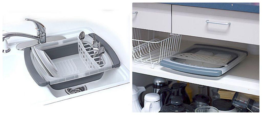 Silverware Tray, Dish Drying Racks And Dish Racks