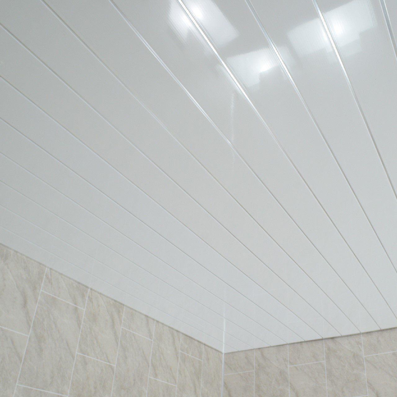 Amazon Co Uk Claddtech Ceiling Panels Bathroom Ceiling Panels Pvc Bathroom Panels Pvc Ceiling Design