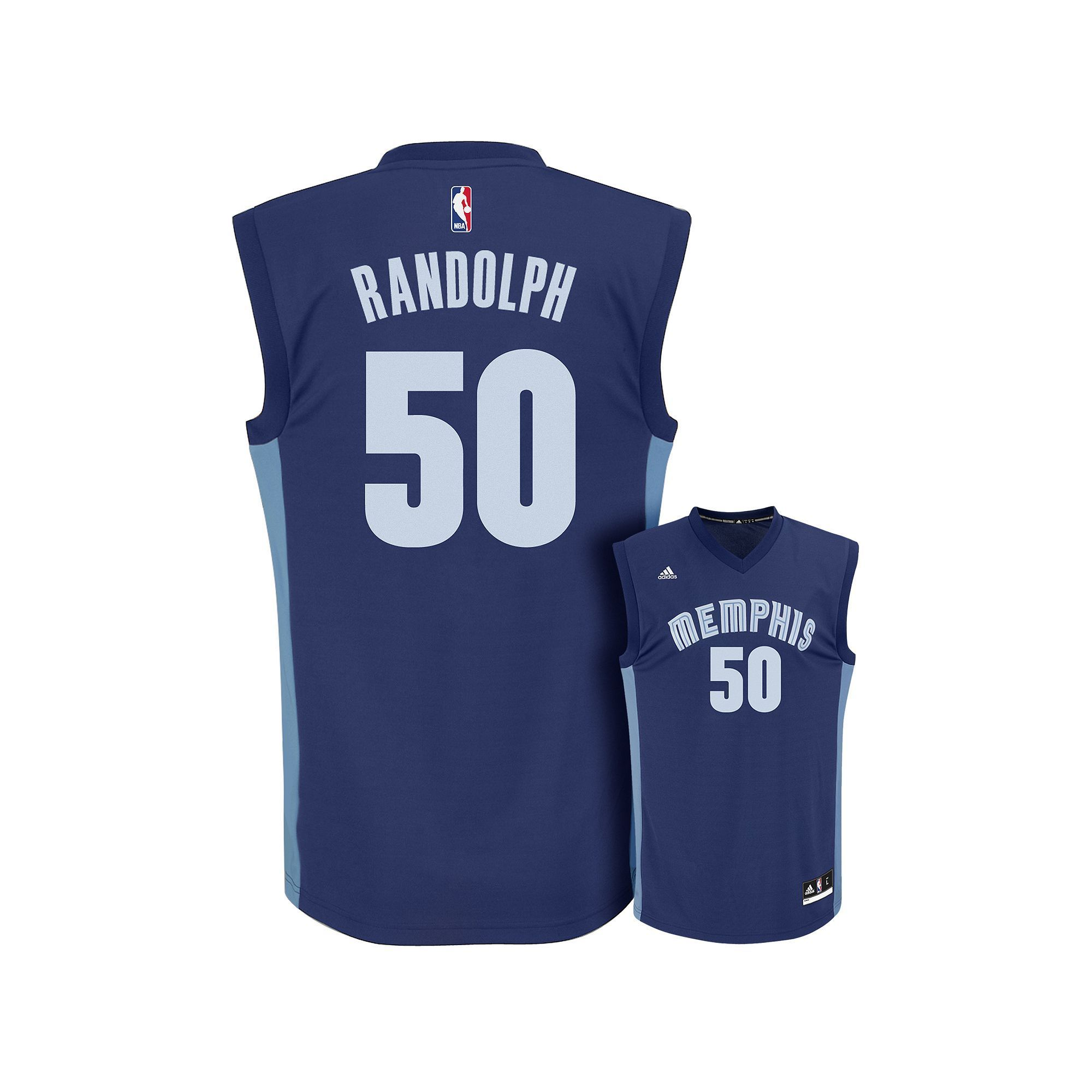 big sale 58304 f8727 adidas Men's Memphis Grizzlies Zach Randolph Replica Jersey ...