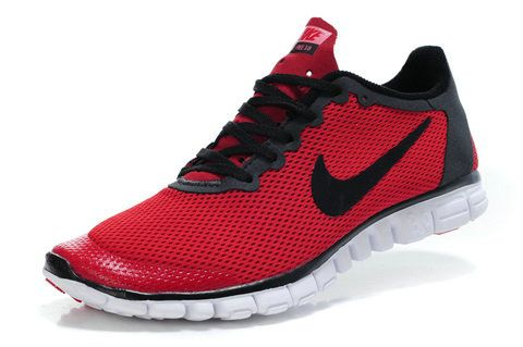 2014 Nike Free 3.0 V2 Red Black      #red  #shoes