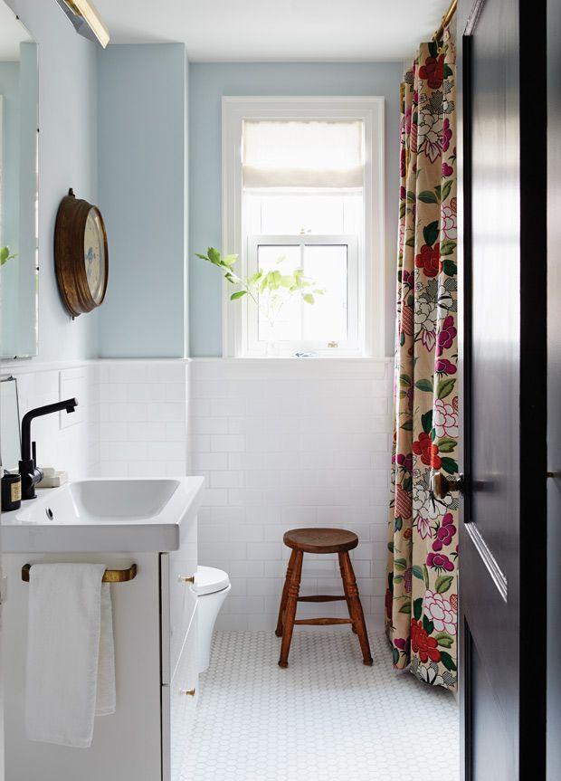 Photos  10 petites salles de bain modernisées Joyeux, Salle de - Peindre Du Carrelage Mural Salle De Bain