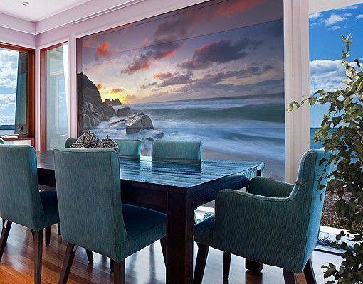 Fensterfolie Xxl Fensterbild Am Meer In Cornwall Fenster