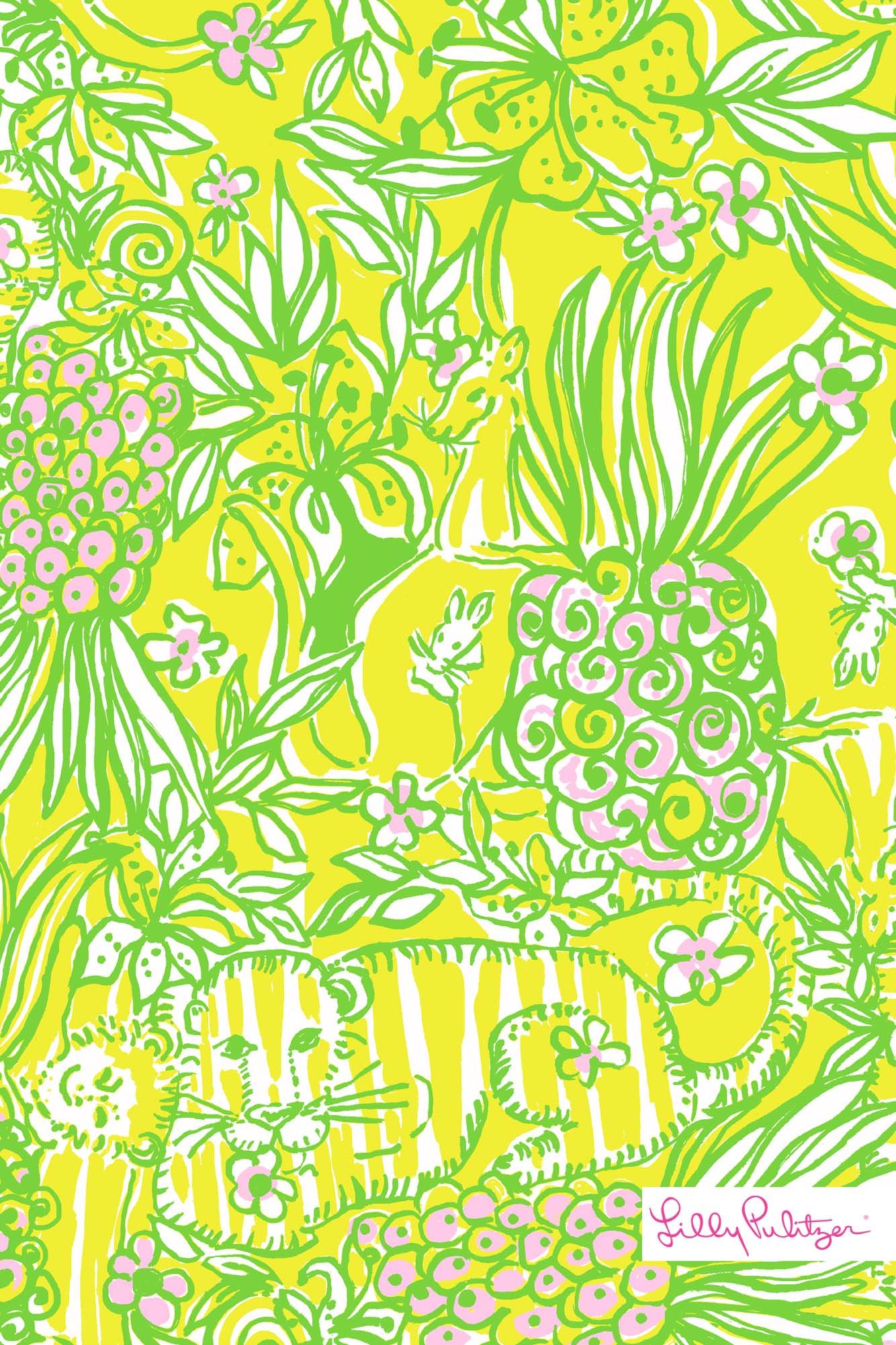 Lilly Pulitzer House lilly pulitzer crazy cat house wallpaper for iphone | patterns we