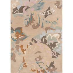 benuta Wollteppich Aurora Beige 200×280 cm – Naturfaserteppich aus Wolle benuta – Boda fotos