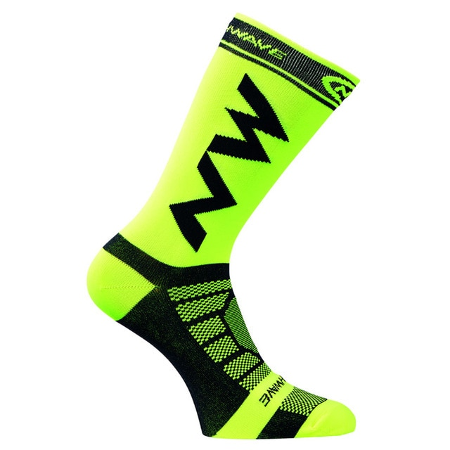 1Pair Unisex Bike Bicycle Cycling Riding Hot Breathable Cycling Footwear Socks