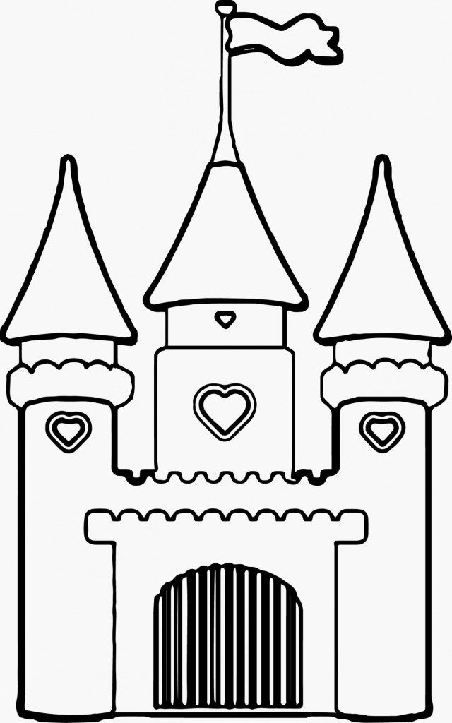 Marvelous Image of Sand Castle Coloring Page ...