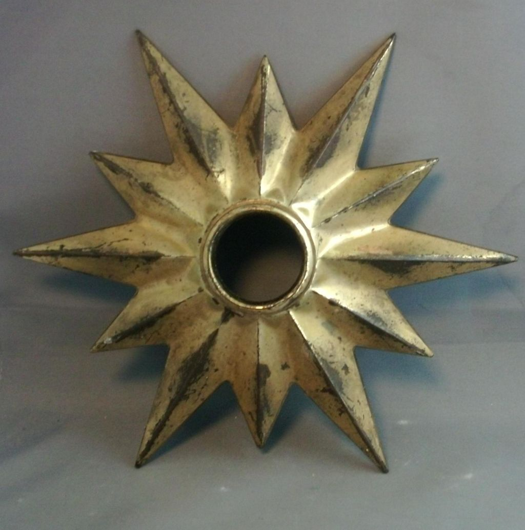 sunburst for medallion the ceiling home pin brass pinterest