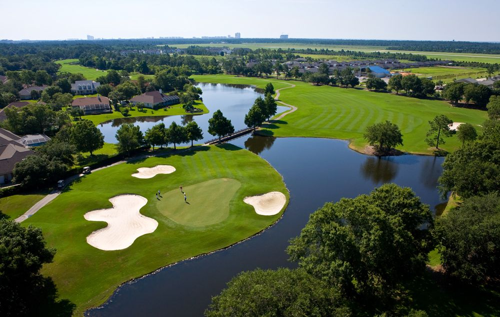 Cotton Creek Golf Course Hole No 6 At Craft Farms Golf Resort