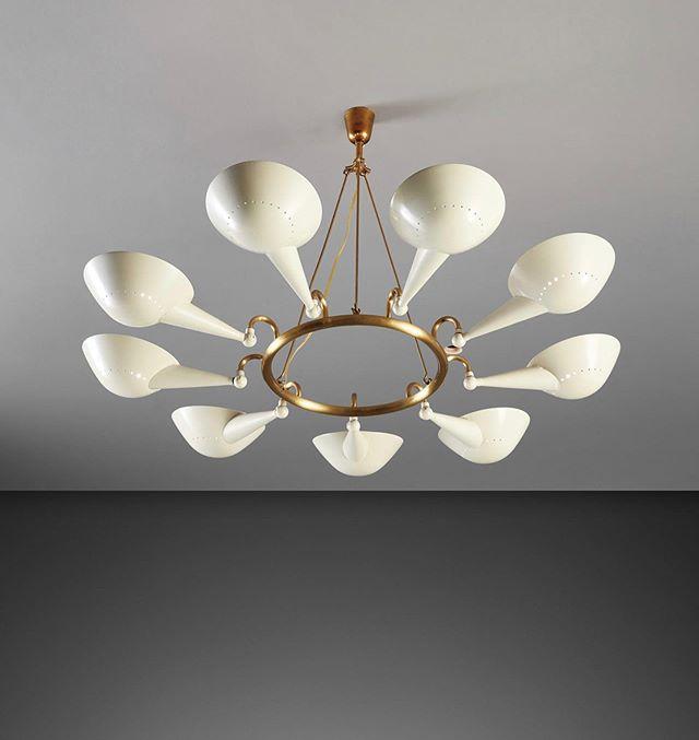 Soigne On Instagram Stilnovo 1950s In 2020 Ceiling Lights Mid Century Light Fixtures Light