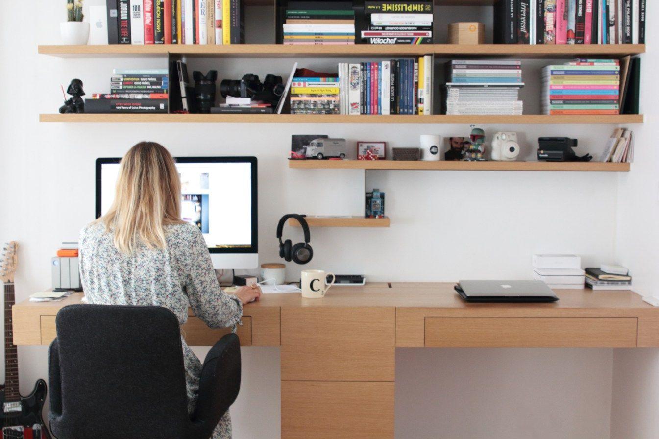 Les bonnes idées à piquer pour un bureau cosy à la mais