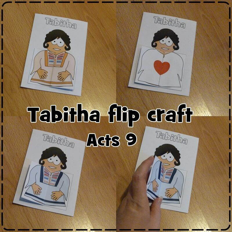 Tabitha Craft From Acts 9
