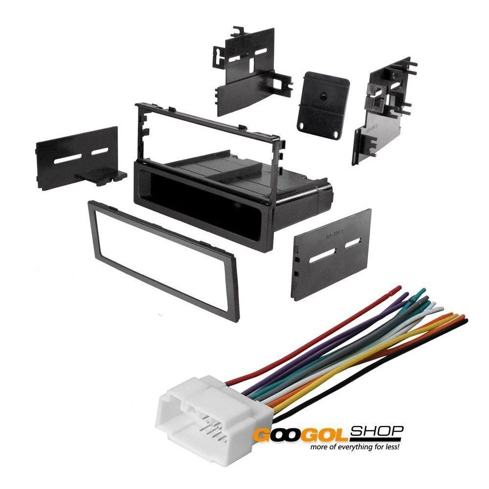 Car Stereo Dash Install Mounting Kit Wire Harness For Honda 1986 2008 Car Stereo Installation Civic Car