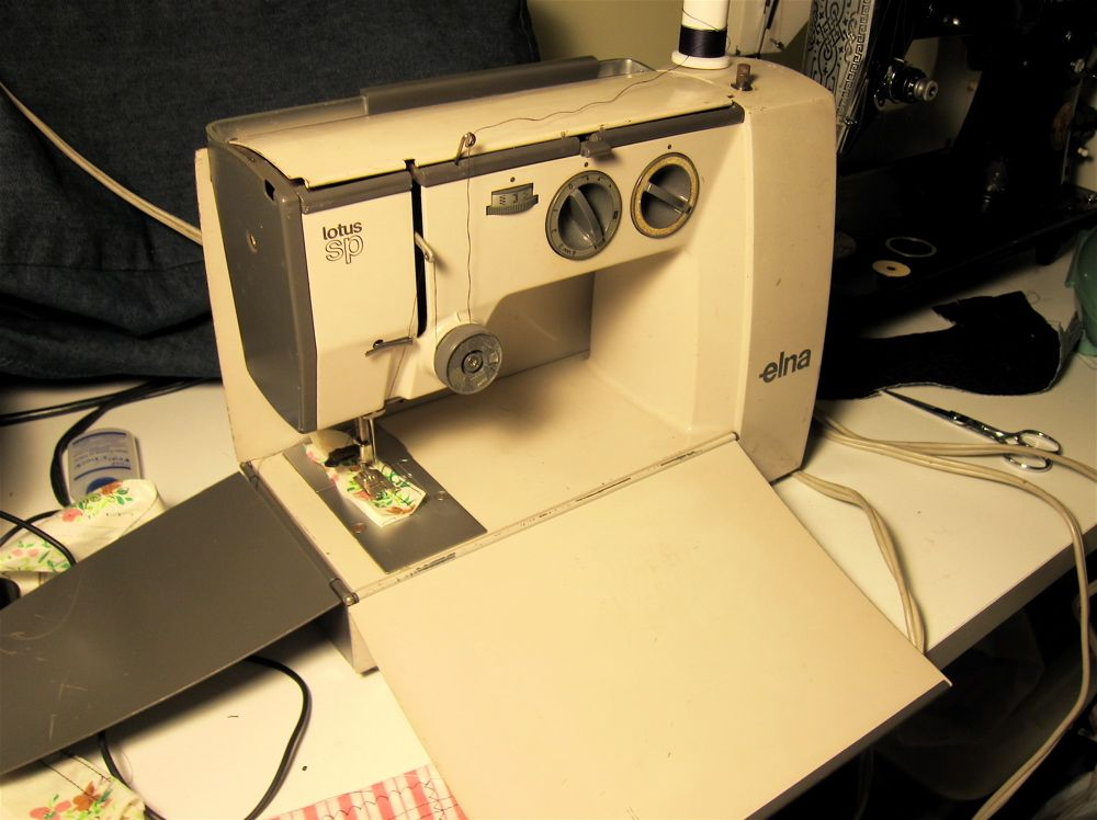 Elna Lotus SP Purchased One 40 Years Ago Pristine Condition And Amazing Elna Lotus Sp Portable Sewing Machine