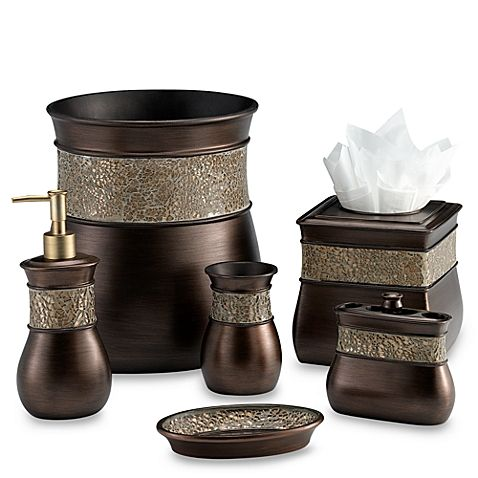 Bathroom Accessories Morillo Toothbrush Holder In Tuscan Gold