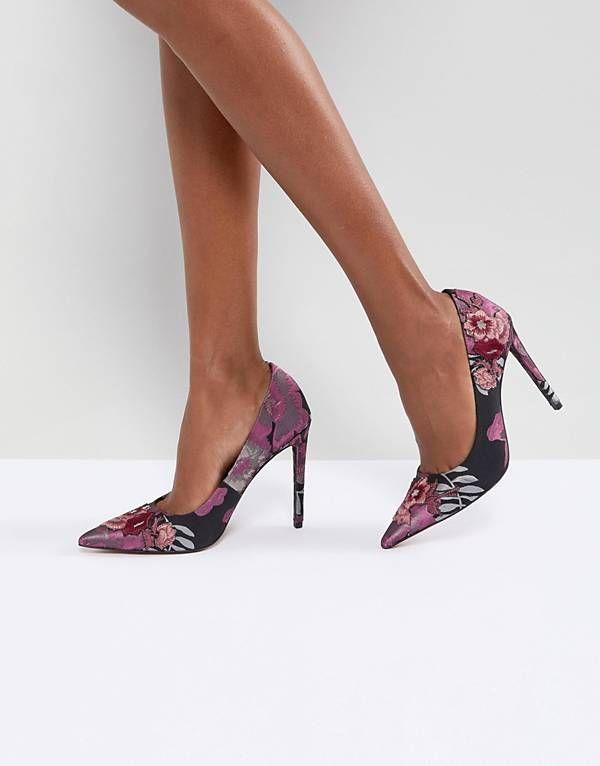 Zapatos de tacón con bordados PUZZLE de ASOS Asos Yq9IzJtcLk