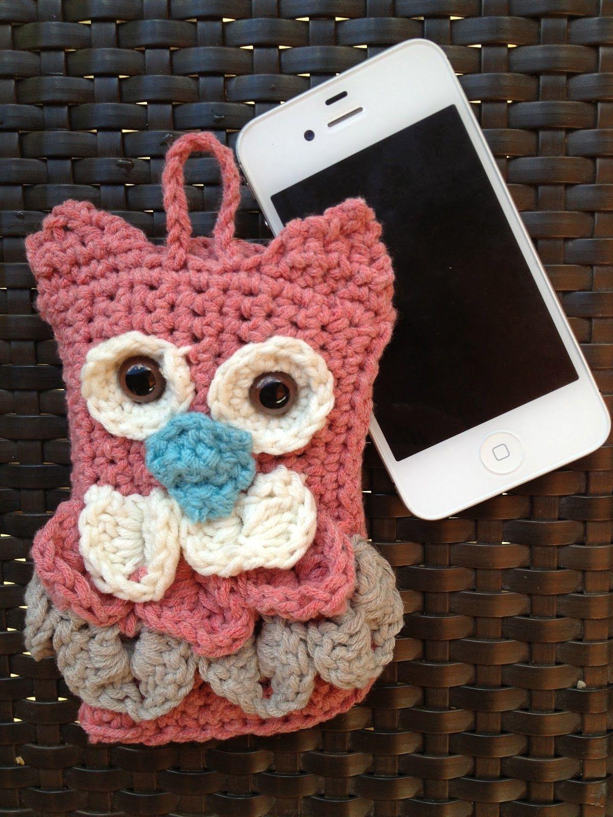 Annoo\'s Crochet World: Free Owl I phone Cover Pattern | recepten ...