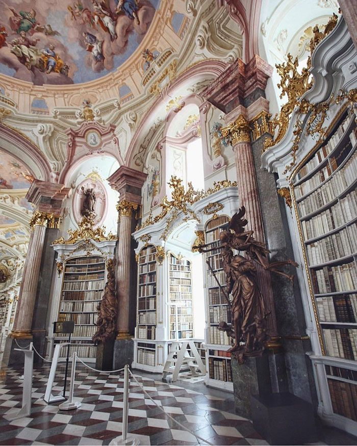 Places: Admont Abbey Library, Austria :: This Is G