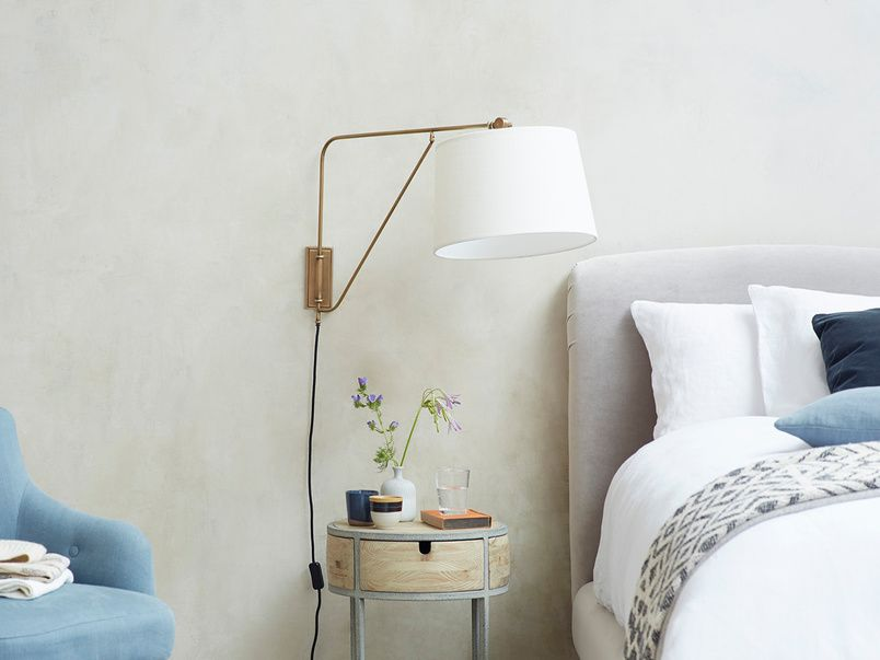 Yard Arm Wall Light Swing Arm Wall Mounted Plug In Lamp Loaf Wall Mounted Bedside Lights Wall Lights Wall Mounted Lights Bedroom