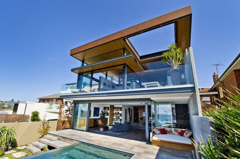 Bronte House by Rolf Ockert Design | Bronte house, House and ...
